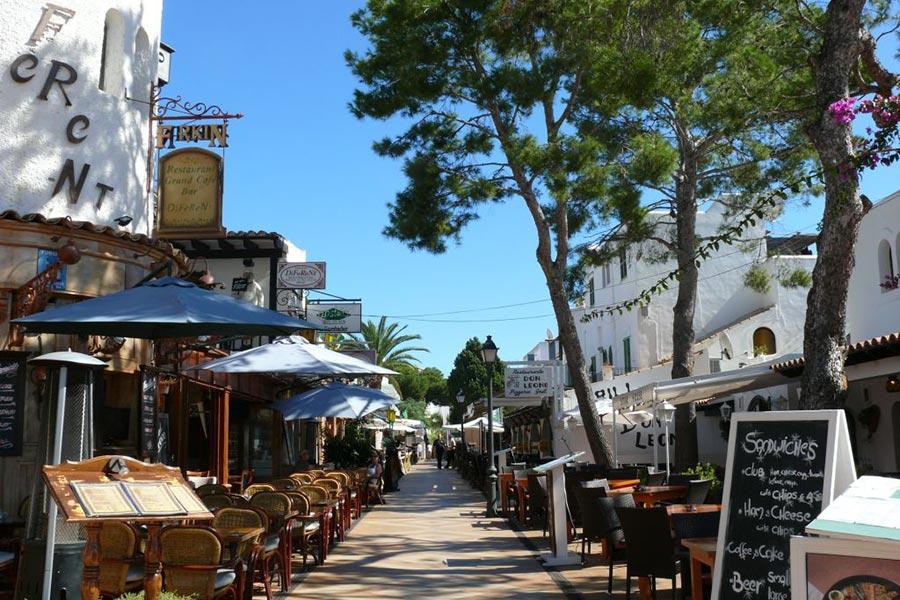 Sehenswürdigkeit Cala Dor Ortsmitte Auf Mallorca